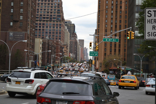 Gridlock on 1st Avenue