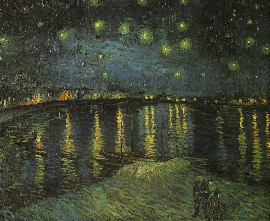 Vincent van Gogh - Starry Night over the Rhone