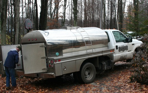 Water deliveries to Dimock residents, like the truck delivery shown here, may be cut off less than a week after Thanksgiving.jpg