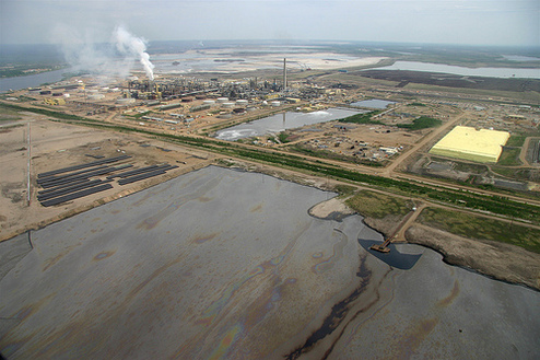Tar Sands Tailings Pond credit David Dodge