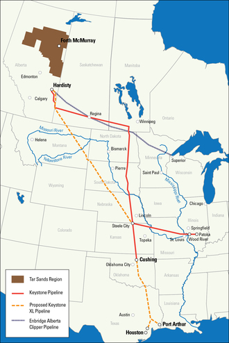Recent Tar Sands Pipelines - NRDC