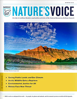 Natures Voice: Winter 2016 issue cover