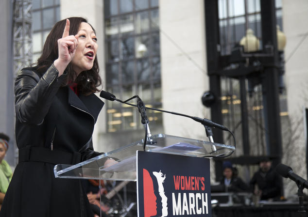 Rhea Suh, Women's March on Washington, D.C.
