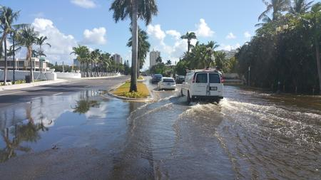 Fort Lauderdale South Florida King Tide Climate Change