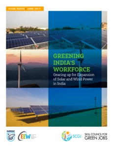 Greening India's Workforce: Gearing up for Expansion of Solar and Wind Power in India